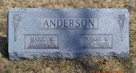 ANDERSON, ROBERT L. - Branch County, Michigan | ROBERT L. ANDERSON - Michigan Gravestone Photos
