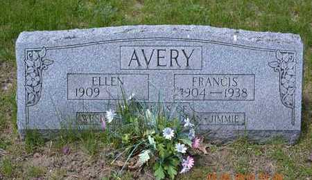 AVERY, FRANCIS - Branch County, Michigan | FRANCIS AVERY - Michigan Gravestone Photos
