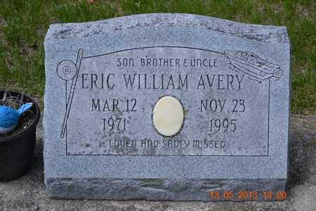 AVERY, ERIC WILLIAM - Branch County, Michigan   ERIC WILLIAM AVERY - Michigan Gravestone Photos