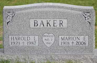 BAKER, HAROLD L. - Branch County, Michigan | HAROLD L. BAKER - Michigan Gravestone Photos