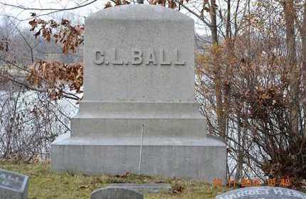 BALL, CLINTON L. - Branch County, Michigan | CLINTON L. BALL - Michigan Gravestone Photos
