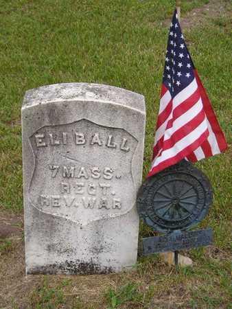 BALL, ELI - Branch County, Michigan | ELI BALL - Michigan Gravestone Photos