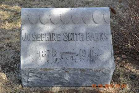 BANKS, JOSEPHINE - Branch County, Michigan | JOSEPHINE BANKS - Michigan Gravestone Photos