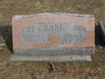 BARE, ALTON L. - Branch County, Michigan | ALTON L. BARE - Michigan Gravestone Photos