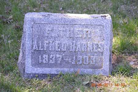 BARNES, ALFRED - Branch County, Michigan | ALFRED BARNES - Michigan Gravestone Photos