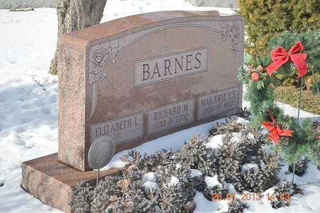 BARNES, ELIZABETH L. - Branch County, Michigan | ELIZABETH L. BARNES - Michigan Gravestone Photos