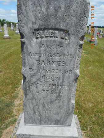 BARNES, ELLEN L. - Branch County, Michigan | ELLEN L. BARNES - Michigan Gravestone Photos