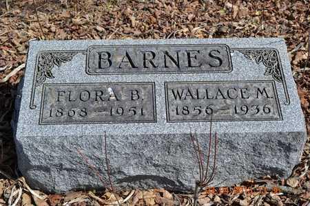 BARNES, FLORA B. - Branch County, Michigan | FLORA B. BARNES - Michigan Gravestone Photos