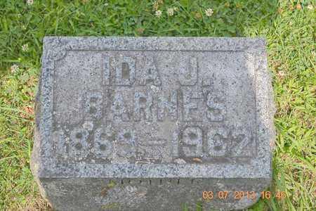 BARNES, IDA J. - Branch County, Michigan | IDA J. BARNES - Michigan Gravestone Photos