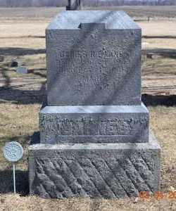 BARNES DOWNS, ORILLA B. - Branch County, Michigan | ORILLA B. BARNES DOWNS - Michigan Gravestone Photos