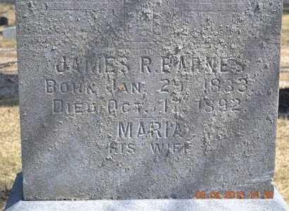 BARNES, JAMES R. - Branch County, Michigan | JAMES R. BARNES - Michigan Gravestone Photos