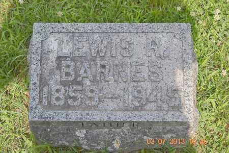 BARNES, LEWIS R. - Branch County, Michigan | LEWIS R. BARNES - Michigan Gravestone Photos