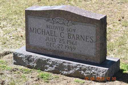BARNES, MICHAEL C. - Branch County, Michigan | MICHAEL C. BARNES - Michigan Gravestone Photos