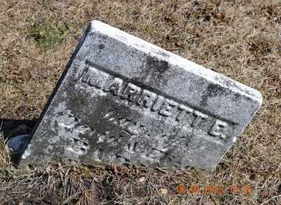 BARNES, MARRIETT E. - Branch County, Michigan | MARRIETT E. BARNES - Michigan Gravestone Photos