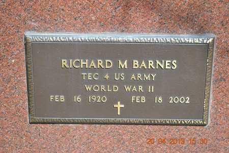 BARNES, RICHARD M. - Branch County, Michigan | RICHARD M. BARNES - Michigan Gravestone Photos