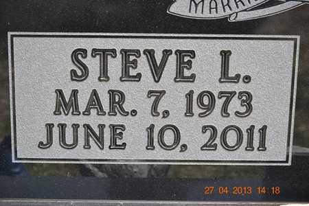 BARNES, STEVE L.(CLOSEUP) - Branch County, Michigan | STEVE L.(CLOSEUP) BARNES - Michigan Gravestone Photos