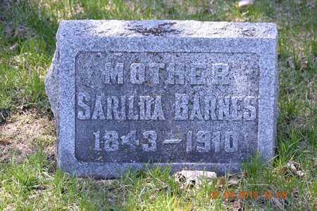 BARNES, SARILDA - Branch County, Michigan | SARILDA BARNES - Michigan Gravestone Photos