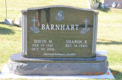 BARNHART, DAVID M. - Branch County, Michigan | DAVID M. BARNHART - Michigan Gravestone Photos