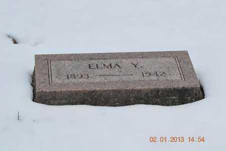 BARNHART, ELMA Y. - Branch County, Michigan | ELMA Y. BARNHART - Michigan Gravestone Photos