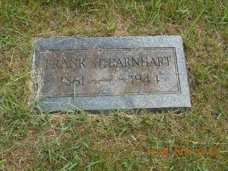 BARNHART, FRANK H. - Branch County, Michigan | FRANK H. BARNHART - Michigan Gravestone Photos