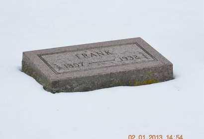 BARNHART, FRANK - Branch County, Michigan | FRANK BARNHART - Michigan Gravestone Photos