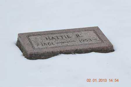 BARNHART, HATTIE R. - Branch County, Michigan | HATTIE R. BARNHART - Michigan Gravestone Photos