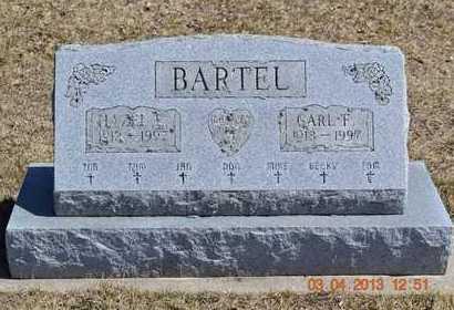 BARTEL, CARL F. - Branch County, Michigan   CARL F. BARTEL - Michigan Gravestone Photos