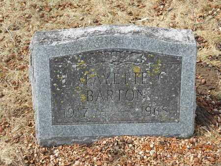 BARTON, LAFAYETTE C. - Branch County, Michigan | LAFAYETTE C. BARTON - Michigan Gravestone Photos