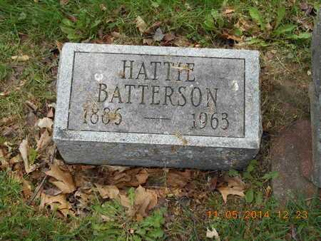 BATTERSON, HATTIE - Branch County, Michigan | HATTIE BATTERSON - Michigan Gravestone Photos