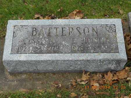 BATTERSON, JESSE A. - Branch County, Michigan | JESSE A. BATTERSON - Michigan Gravestone Photos