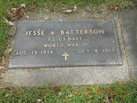 BATTERSON, JESSE A. - Branch County, Michigan | JESSE A. BATTERSON - Michigan Gravestone Photos