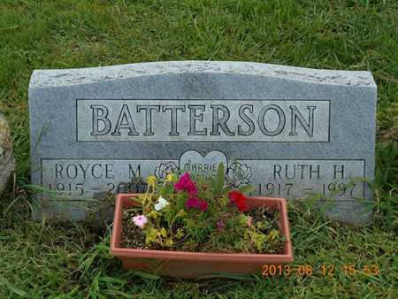 BATTERSON, RUTH H. - Branch County, Michigan | RUTH H. BATTERSON - Michigan Gravestone Photos