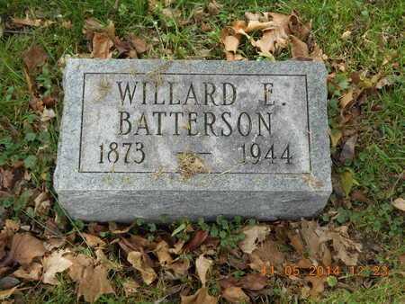 BATTERSON, WILLARD E. - Branch County, Michigan   WILLARD E. BATTERSON - Michigan Gravestone Photos