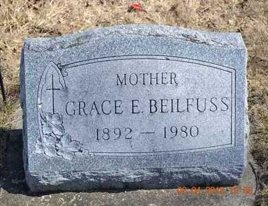 BEILFUSS, GRACE E. - Branch County, Michigan | GRACE E. BEILFUSS - Michigan Gravestone Photos