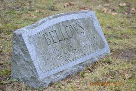 BELLOWS, DWIGHT - Branch County, Michigan | DWIGHT BELLOWS - Michigan Gravestone Photos