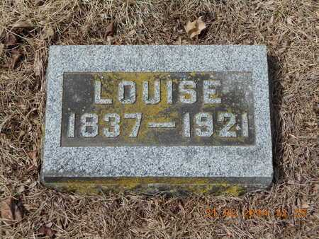 BELLOWS, LOUISE - Branch County, Michigan | LOUISE BELLOWS - Michigan Gravestone Photos