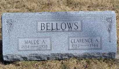 BELLOWS, MAUDE A. - Branch County, Michigan | MAUDE A. BELLOWS - Michigan Gravestone Photos