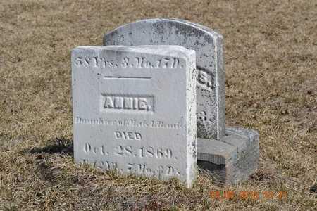 BEMISS, ANNIE - Branch County, Michigan | ANNIE BEMISS - Michigan Gravestone Photos