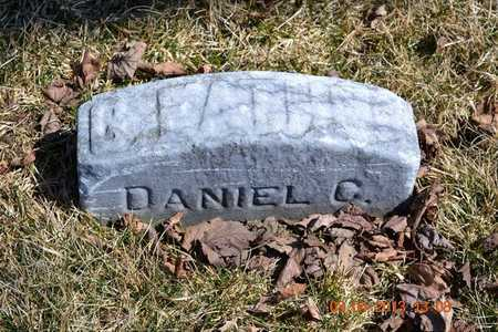 BENNETT, DANIEL C. - Branch County, Michigan | DANIEL C. BENNETT - Michigan Gravestone Photos
