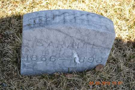 WARREN BENNETT, SARAH L. - Branch County, Michigan | SARAH L. WARREN BENNETT - Michigan Gravestone Photos