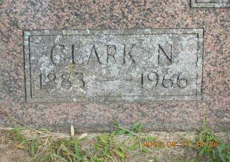 BENTON, CLARK N. - Branch County, Michigan   CLARK N. BENTON - Michigan Gravestone Photos