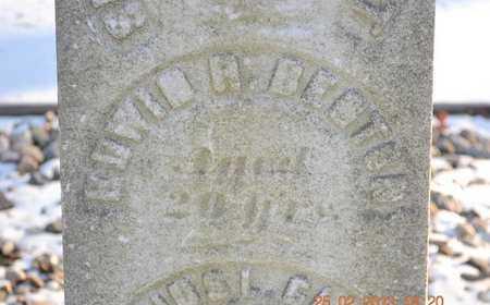 BENTON, EDWIN H. - Branch County, Michigan   EDWIN H. BENTON - Michigan Gravestone Photos