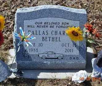 BETHEL, DALLAS CHARLES - Branch County, Michigan   DALLAS CHARLES BETHEL - Michigan Gravestone Photos