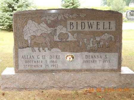 BIDWELL, DEANNA S. - Branch County, Michigan | DEANNA S. BIDWELL - Michigan Gravestone Photos