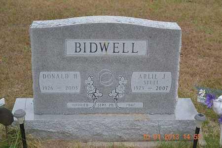 BIDWELL, ARLIE J. - Branch County, Michigan | ARLIE J. BIDWELL - Michigan Gravestone Photos
