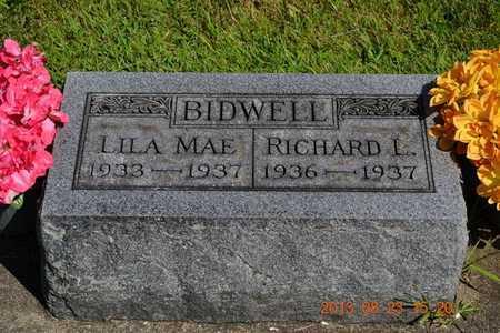BIDWELL, RICHARD L. - Branch County, Michigan | RICHARD L. BIDWELL - Michigan Gravestone Photos