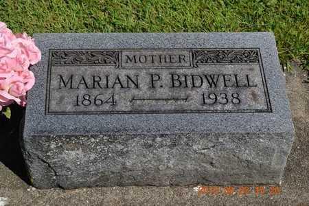BIDWELL, MARIAN P. - Branch County, Michigan | MARIAN P. BIDWELL - Michigan Gravestone Photos