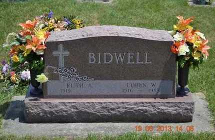 BIDWELL, RUTH A. - Branch County, Michigan | RUTH A. BIDWELL - Michigan Gravestone Photos
