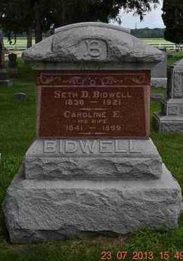 BIDWELL, CAROLINE E. - Branch County, Michigan | CAROLINE E. BIDWELL - Michigan Gravestone Photos