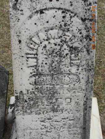BLACK, WILLIAM - Branch County, Michigan | WILLIAM BLACK - Michigan Gravestone Photos
